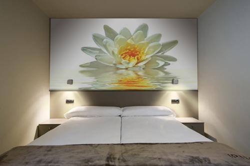 Murales Flores Naturaleza Flor Loto Blanca