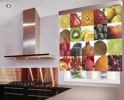 Estores cocina mosaico de frutas for Estores de cocina modernos