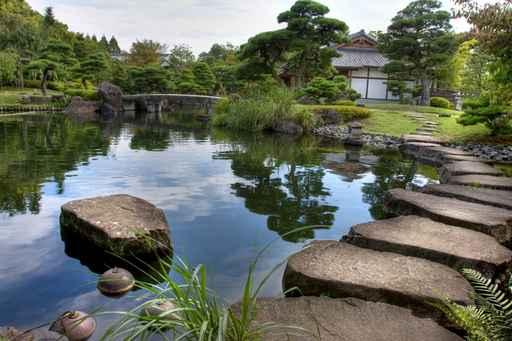 Murales paisajes jardin japon s for Decoracion jardin japones
