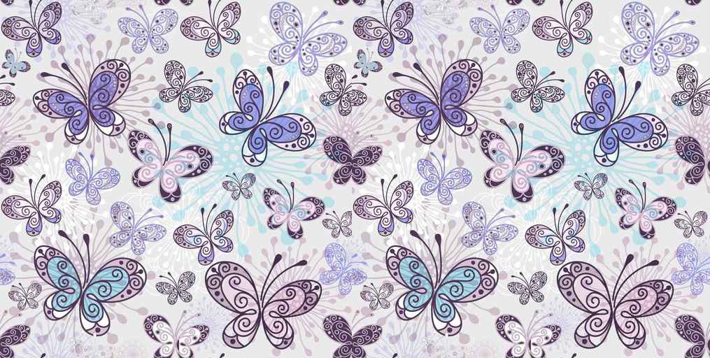 Estores Texturas y patrones Mariposas Animales
